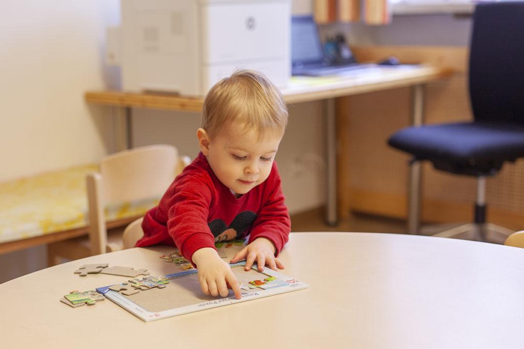 Das Krankenhaus Ried bietet eine Betriebstagesmutterstätte für die Kleinsten