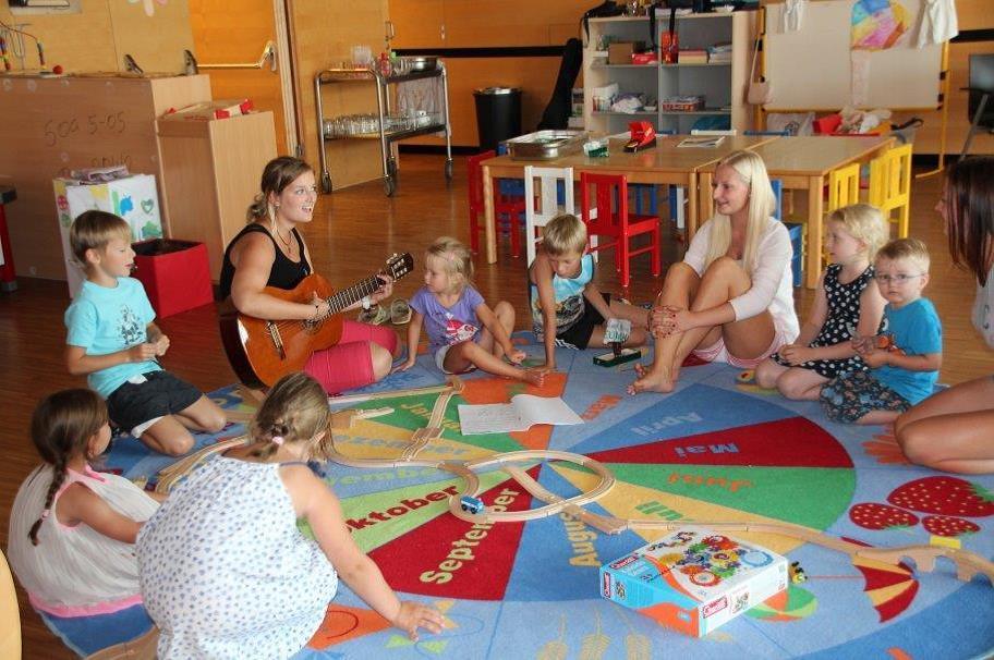 Die Ferienbetreuungen mit Tagesmüttern im Klinikum Schärding sind sehr beliebt.