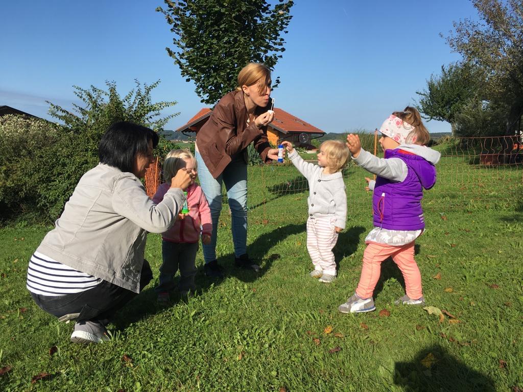 Kirchberg bei Mattighofen bietet ein Kindernest.